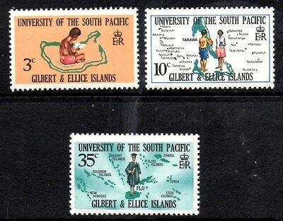 (Ref-9396) Gilbert & Ellice Islands 1969 South Pacific University SG.154/6 Mint