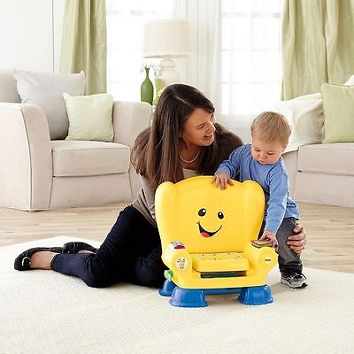 Fisher-Price Laugh and Learn Smart Stages Chair Yellow