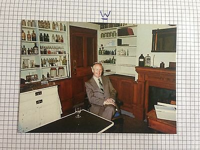 James Herriot In The Darrowby Surgery Film Set Postcard