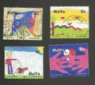 International Drawing Contest for Children 2000 - Malta - Fine Used - SALE OFFER
