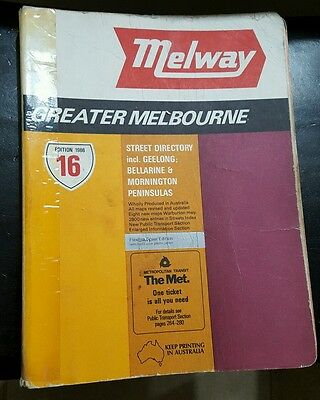 Melway 16 edition