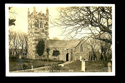 Landewednack Church - real photographic postcard