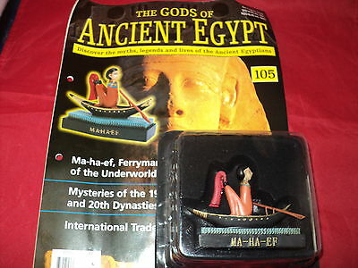 Hachette The Gods of Ancient Egypt - Issue 105 - Ma-ha-ef - Ferryman of the Unde