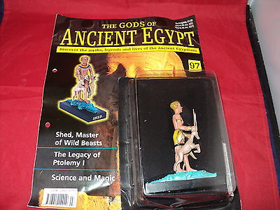 Hachette The Gods of Ancient Egypt - Issue 97 - Shed - master of wild beasts