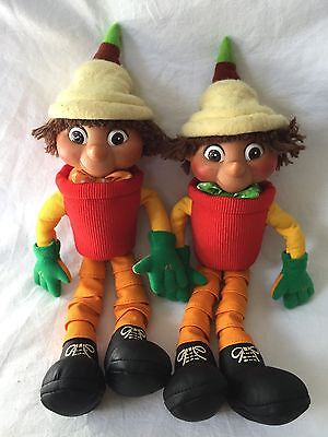 Bill and Ben Soft Toy BBC/Hasbro Year 2000