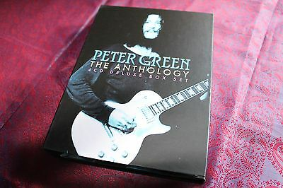 PETER GREEN • THE ANTHOLOGY • 4 CD + Colour book •BRAND NEW