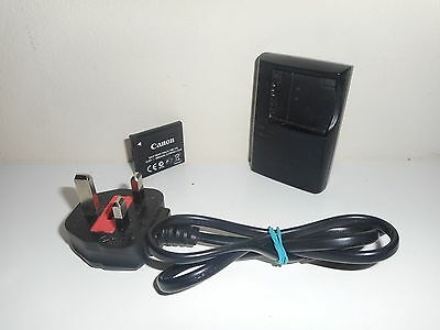 Genuine Canon CB-2LFE Charger and NB-11L Battery