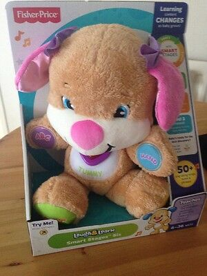 Fisher Price Laugh & Learn Smart Stages Sis New