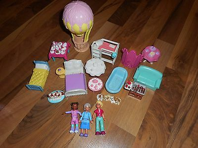 SWEET STREETS GO ANYWHERE LOT Grandma Puppy Dog Grill Children Dollhouse Figures