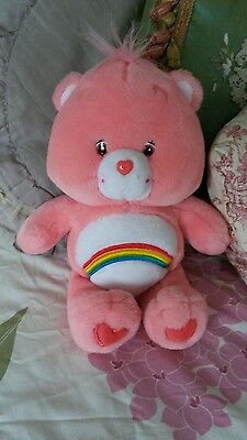 Care bear cheer bear soft toy plush
