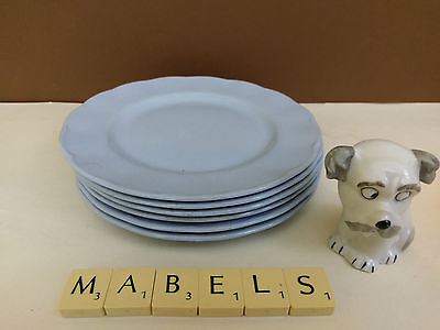 W H GRINDLEY ~PETALWARE LUPIN~ side plates x 6
