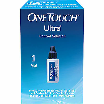Onetouch Ultra Control Solution Life Scan (Pack Of 3)