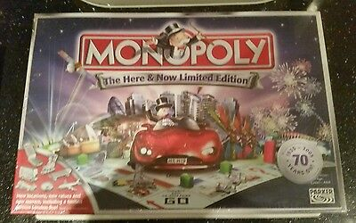 Monopoly The Here And Now Limited Special Edition Board Game Brand New 2005
