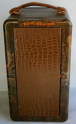 Vintage Tom Thumb Patented Portable Radio by Automatic Co.