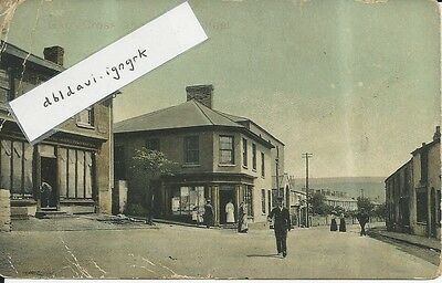 Vintage locally published postcard of Garn Cross, Nantyglo, Monmouthshire