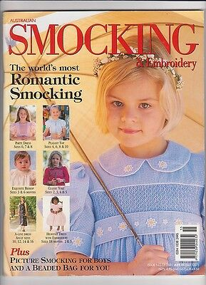 Australian Smocking & Embroidery - Issue 55 - 2001 - Very Rare