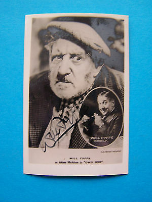 Will Fyffe - Hand Signed Photograph