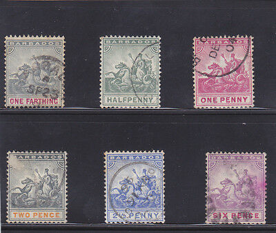Stamps of Barbados.