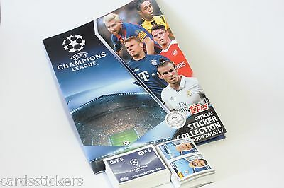Original Topps Champions League 2016-2017 complete set of all stickers + album