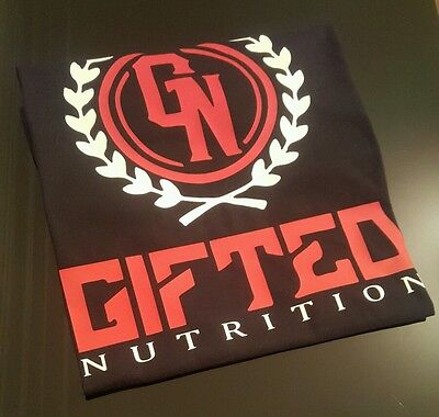 gifted nutrition t shirt size medium