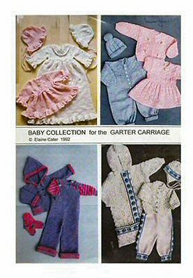 Machine Knitting Garter Carriage Baby Patterns By Elaine Cater
