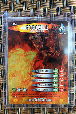 Doctor Who Battles in Time Devastator Super Rare 1064 Pyrovile - SR 239/250