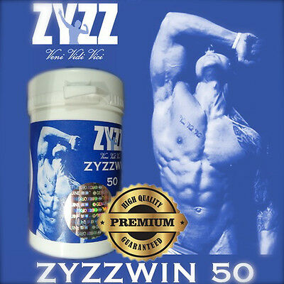 ZYZZWIN 50! WINST50! Legal Anabolic Muscle Mass Bodybuilding Supplement!