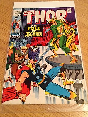 The Mighty Thor #175 Fall Of Asgard Marvel Comic