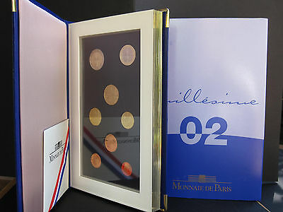 Coffret 2002 Be @ Euros @ Neuf Complet