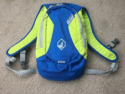 Kids Camelbak rucksack with 1.5L bladder and winterised tube