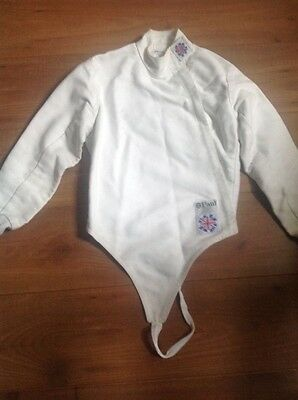 Fencing  jacket Leon Paul childs size 32