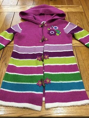 Girls Knitted Cardigan / Jacket Aged 4 Years