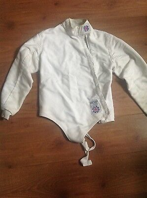 Fencing jacket Leon Paul childs size 36.