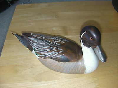 Big Sky Carvers Hand Carved Wooden Pintail Duck