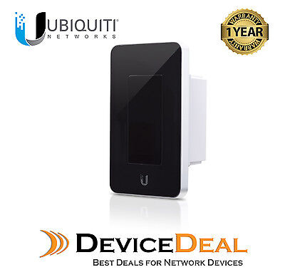 Ubiquiti mFi‑LD In-Wall Manageable Switch/Dimmer - Black Colour
