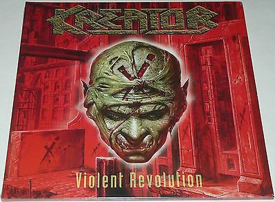 Kreator Violent Revolution LP 2017 Double Gatefold Limited * RED* Vinyl + CD NEW