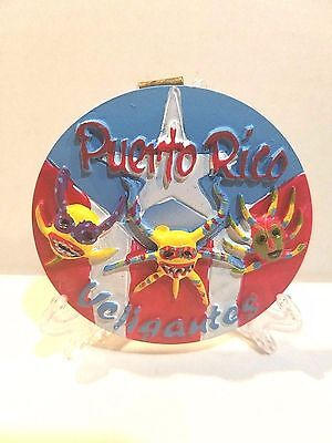 Puerto Rico Home & Office Decorative Plate Souvenirs Vejigante Rican  wall table
