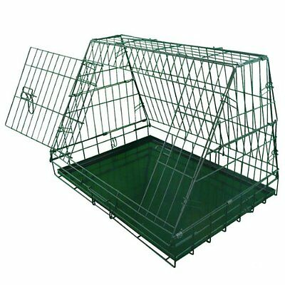 Ellie-Bo Sloping Puppy Cage Folding Dog Crate - 30 inch