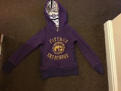 Fat Face hoodie age 8-9