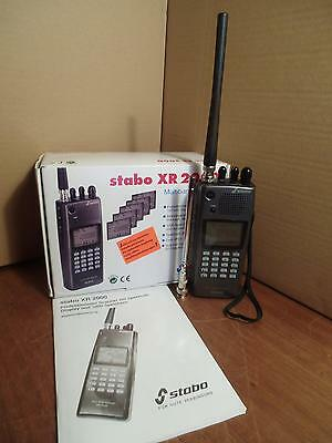 Stabo XR 2000 Handscanner/Multiband Receiver/Spektrum-Display/1000 Speicher