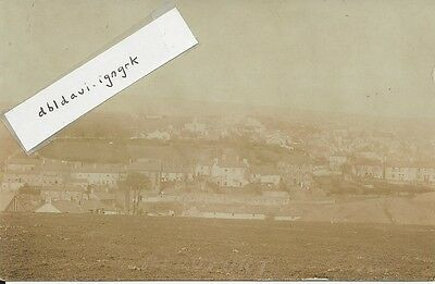 Vintage sepia RP postcard of Beaufort, Ebbw Vale, Monmouthshire