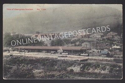Glamorgan View Of Abercynon Railway Station Posted 1907