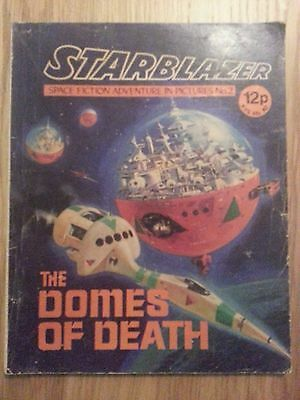 Starblazer Issue No 2 - The Domes of Death