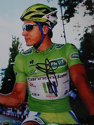 cyclisme cycling autograph PETER SAGAN photo 21X15 signed ciclismo TDF TINKOFF