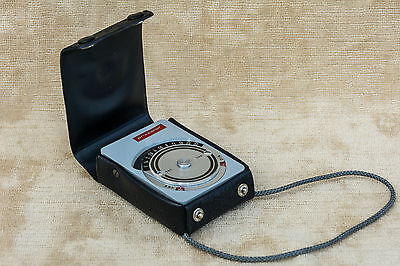 Dorn Prixcolor CP Cased Light Meter Vintage Working