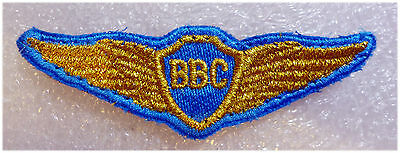 Russian Air Force Embroidered Wings Badge for New Office Uniform
