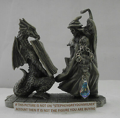Myth And Magic - Invoking The Spell Figure By Tudor Mint
