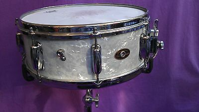 Vintage Slingerland Artist 14x5 SOLID MAPLE SHELL RADIO KING  60s WMP re-finish