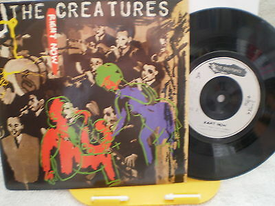 "The Creatures- Right Now –Uk 7"" Single-Nm-Siouxsie -1983"