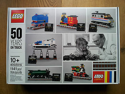 Lego 4002016 50 YEARS ON TRACK NEW/NEU perfect condition